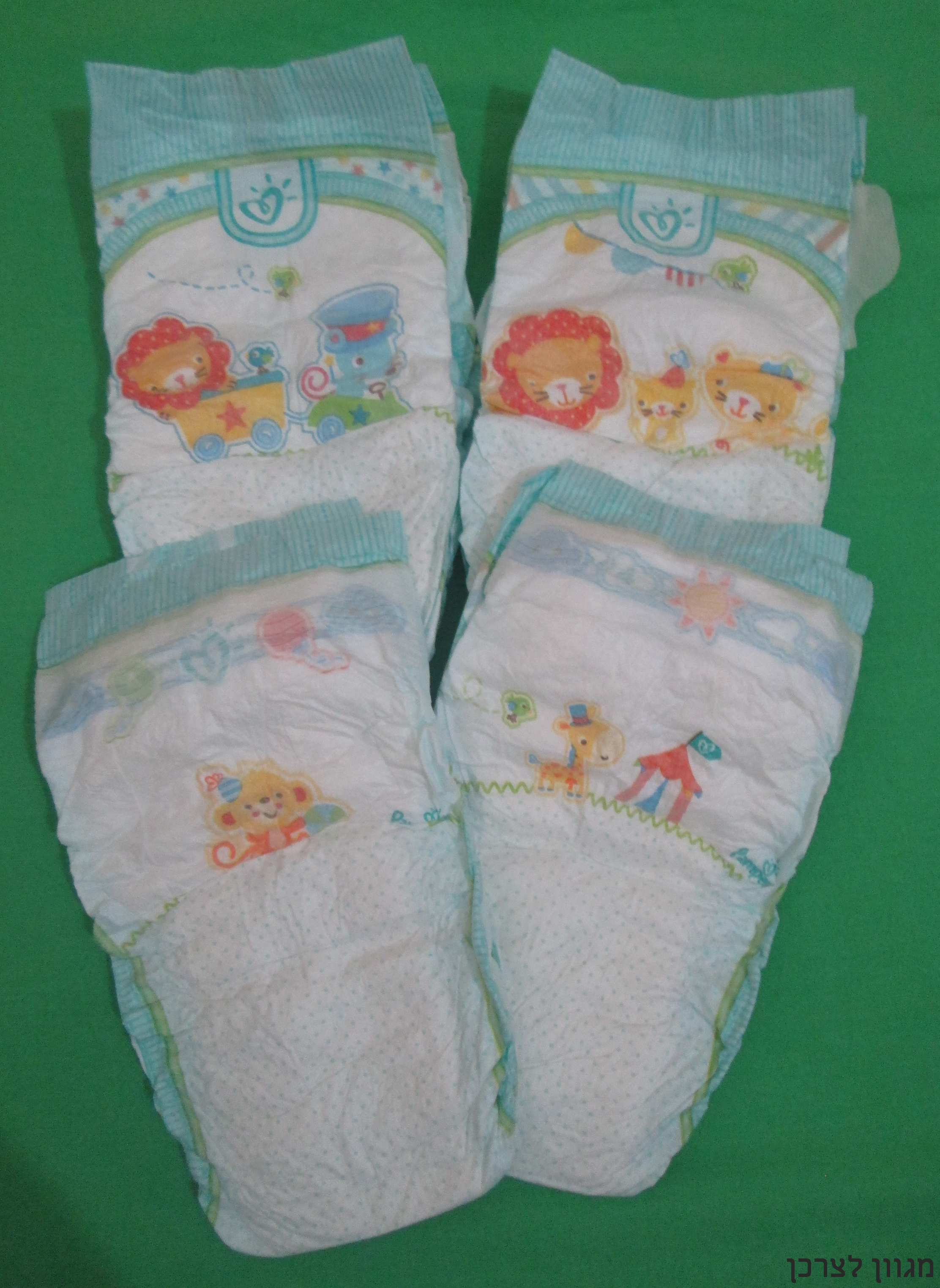 Pampers Active Baby Dry החדשים!