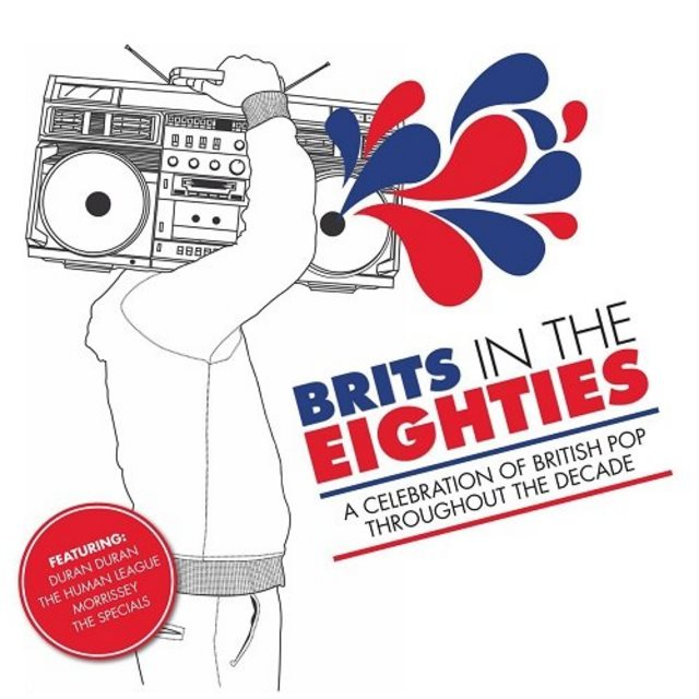 שנות השמונים - Brits In The 80s (2CD) (2011) - להו...
