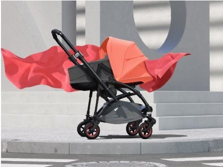 Bugaboo Bee5 Coral limited edition