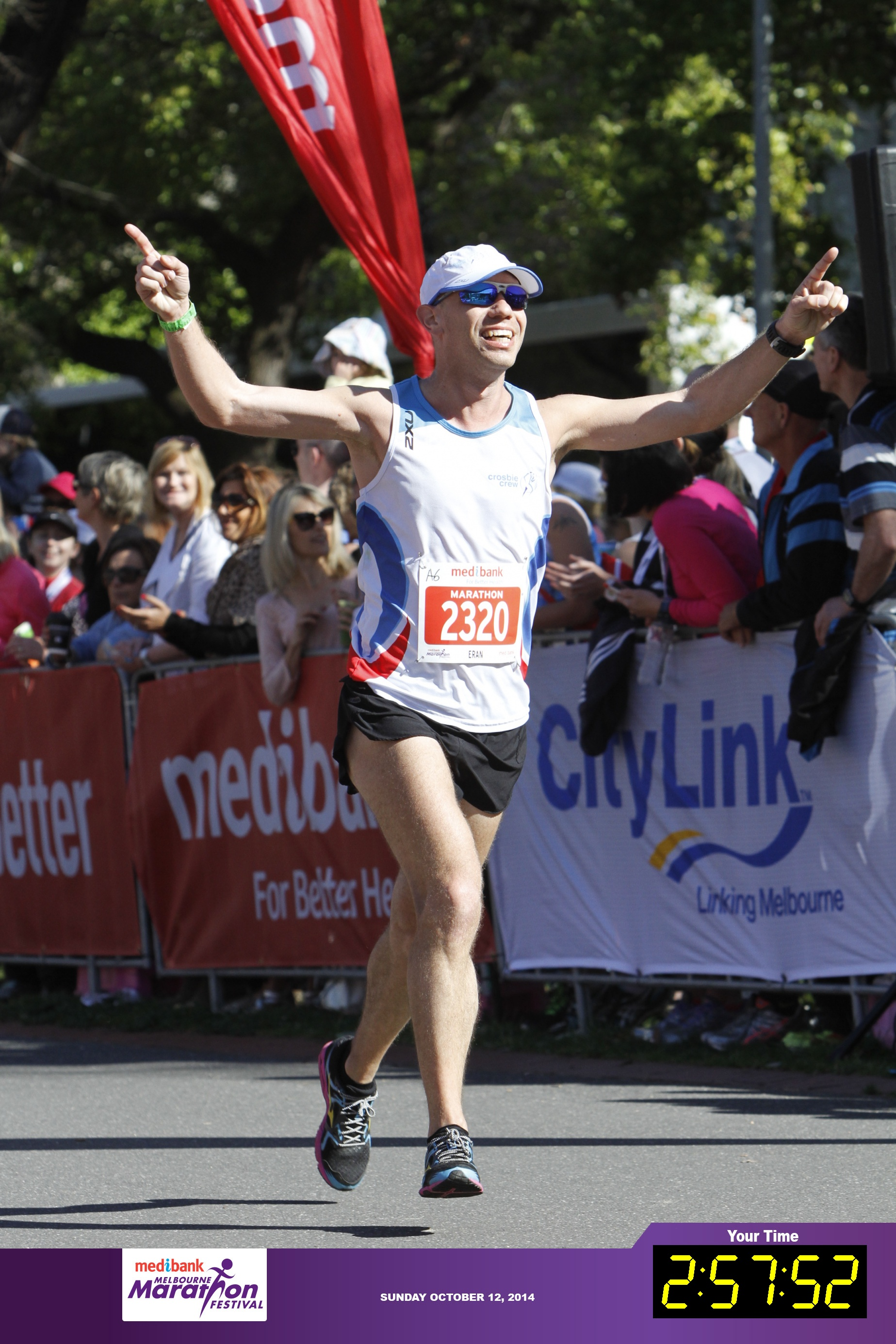 Melbourne Marathon 2014 - The three hours barrier